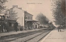 34/ Baillargues - La Gare Avec Train - - Autres Communes