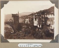Sospel. Alpes-Maritimes. 1931. - Luoghi