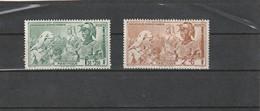 Martinique Neuf * 1942  Poste Aérienne N° 1/2  Protection De L'enfance Indigène - Martinique (1886-1947)