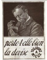 "PUB CONSERVES   "" AMIEUX FRERES  ""    1910  ( 4 ) - Boîtes"