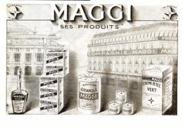 "PUB PRODUITS  "" MAGGI ""    1910 ( 1 ) - Boîtes"