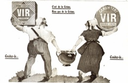 "PUB FROMAGES  "" VIR ""    1910 ( 1 ) - Boîtes"