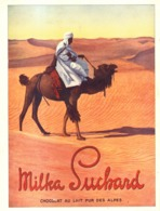 "PUB CHOCOLATS "" MILKA "" De  "" SUCHARD ""   1912 ( 2 ) - Chocolat"
