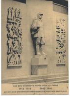 Aux 3012 Cheminots Morts Pour La Patrie 1914-1918 1940-1945 - Belgique