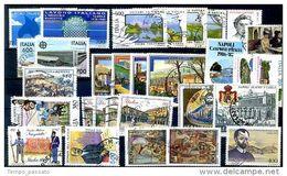 ITALIA -  REPUBBLICA  - ANNATA COMPLETA 1987,USATI  LUSSO - Annate Complete