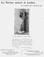 """PUB PARFUM   De  """" LENTHERIC """"   1912 ( 5 ) - Perfume & Beauty"""