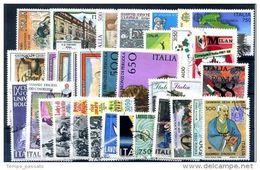 ITALIA -  REPUBBLICA  - ANNATA COMPLETA 1988,USATI  LUSSO - 6. 1946-.. Repubblica