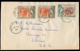 BC - Dominica. 1959. GPO - USA. Multifkd Env. VF. - Unclassified
