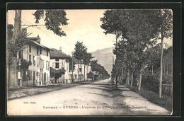 CPA Eybens, L`Entrée Du Village, Route De Grenoble - Grenoble