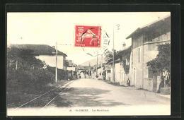 CPA Saint-Ismier, Les Maréchaux, Vue De La Rue In Der Ortschaft - Zonder Classificatie