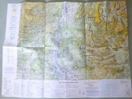 Carte Aérienne I.G.N. : VALENCE - 1/250 000ème - 1988. - Autres