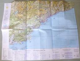 Carte Aérienne I.G.N. : NICE - 1/250 000ème - 1988. - Cartes