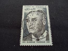 "70-79- Timbre Oblitéré N°   1827 "" Eugène Thomas  ""  0.50 - Used Stamps"