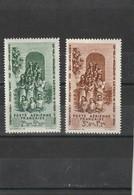 Inde Neuf * 1942  Poste Aérienne  N° 7/8  Protection De L'enfance Indigène - Inde (1892-1954)