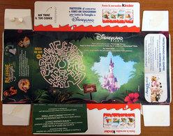 SCATOLA BOX MERENDINE KINDER ITALY DISNEYLAND PARIS RE LEONE - Kinder & Diddl