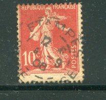 FRANCE- Y&T N°134- Oblitéré (très Belle Oblitération!!!) - Usati