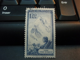 Timbre  Ceskoslovensko TATRY VYSNE RUZBACHY. Avec Charnière, Beau Timbre - Czechoslovakia