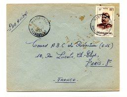 Madagascar, Lettre De MANDRITSARE Pour Paris, 1955 - (C1026) - Brieven En Documenten