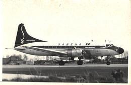"""SABENA - Photo 180 X 120 Mm. - """"Metropolitan"""" - Aviazione"""