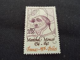 """70-79- Timbre Oblitéré N°  1880  """" Maréchal Moncey  """"    0.65 - Oblitérés"""