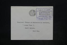 AFRIQUE DU SUD - Enveloppe En Franchise Du Consulat De France à Cap Town En 1963 Pour Hout Bay - L 25903 - Afrique Du Sud (1961-...)