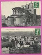 15 Cantal Saint Urcize Lot De 2 Cpa Env De Neuvéglise Chaudes Aigues Saint Flour Laguiole Nasbinals - France