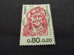 """70-79- Timbre Oblitéré N°   1882 """" Mounet Sully  """"   0.65 - Used Stamps"""