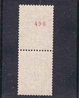 Type : MARIANE DE BEQUET N° 1664 E Avec Numéro ROUGE Au Verso - Voir Les 2 Scans - France