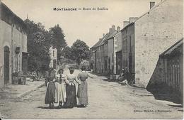MONTSAUCHE LES SETTONS La Route De Saulieu - Montsauche Les Settons