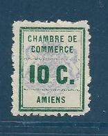 Timbre Neuf* France ,  N°1 Yt, Timbre De Grève, Chambre De Commerce Amiens - Staking