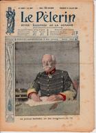 Le PELERIN N°2155 - 14 Juillet 1918 Colonel Deport Canon 75, Photos Défilé 4 Juillet Paris, Français & Anglais Trinquent - Livres, BD, Revues