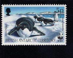 740450540 POSTFRIS  MINT NEVER HINGED EINWANDFREI SCOTT 193 ADELIE PENGUIN WWF - Territoire Antarctique Britannique  (BAT)