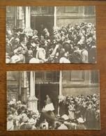 2stuks Oude Postkaarten LEIBER - TAG      H. SPIESSL   DUITSLAND - München