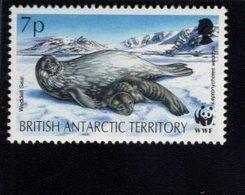 740451515 POSTFRIS  MINT NEVER HINGED EINWANDFREI SCOTT 194 WEDDELL SEAL WWF - Territoire Antarctique Britannique  (BAT)