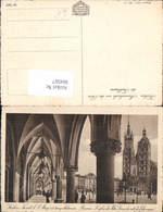 604567,Krakau Krakow Poland Marienkirche Tuchhaus - Polen