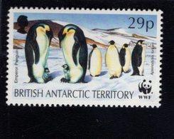 740450540 POSTFRIS  MINT NEVER HINGED EINWANDFREI SCOTT 194 EMPEROR PENGUIN WWF - Territoire Antarctique Britannique  (BAT)
