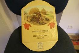 Calendrier Publicitaire Avec Porte Lettre 1940 Toute Petite Déchirure En Haut à Gauche - Calendrier Complet   Dimensions - Grand Format : 1921-40