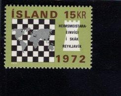 740456060 POSTFRIS  MINT NEVER HINGED EINWANDFREI SCOTT 442 CHESSBOARD WORLD CHESS CHAMPIONSHIP REYKJAVIK 1972 - 1944-... Republique