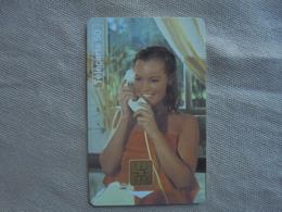 Télécarte 50 Unités Téléphone Et Cinéma Romy Schneider 03/95 - Cinéma