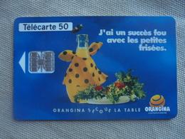 Télécarte 50 Unités Orangina 07/93 - Alimentation