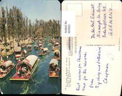 603952,Mexico Mexiko Xochimilco The Mexican Venice Boote - Mexiko