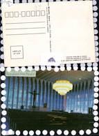 603948,Kirche Church Interior Do Santuario Dom Bosco Brasilien Sao Paolo - Ansichtskarten