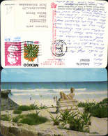 603947,Chac-Mool Statue Chac-Mool Beach Cancun Quintana Roo Mexico Mexiko Strand Stra - Mexiko