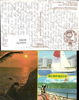 603942,Mehrbild Ak Mexiko Mexico Acapulco Bay Segelboot - Mexiko