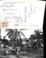 603918,Foto Ak Bou-Saada Algerie Algerien Cite Du Bonheur A L Entree Du Village - Ansichtskarten