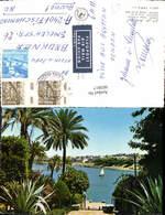 603917,Aswan Assouan Blick A. D. Stadt View Of The Nile Ägypten - Ansichtskarten