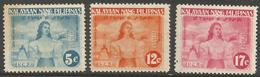 Philippines (Japanese Occupation)  - 1943 Independence Declaration Perf MH *     Sc N29-31 - Philippines