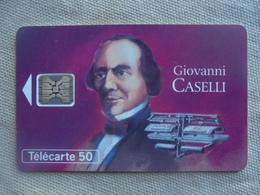 Télécarte 50 Unités Giovanni Caselli 12/93 - Personnages