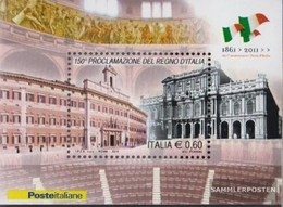 Italy Block53 (complete Issue) Unmounted Mint / Never Hinged 2011 150Jahre UK Italy - 2011-...: Ungebraucht