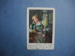 Carte ILLUSTRATEUR  -  WILHELM BOEHME  -  Gretchen  -  Tableaux - Peinture  -  Dessins - Illustrateurs & Photographes